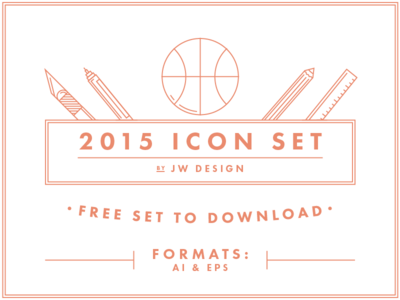 Free Download — Icon Set 2015