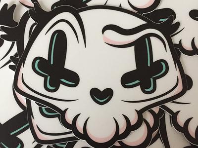 Candy Skull Sticker