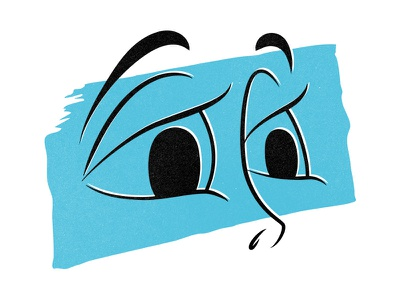 Hope photoshop illustration posca texture ink marker face expression abstract eyes