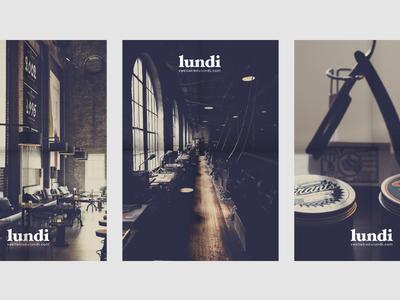 LUNDI poster mockups