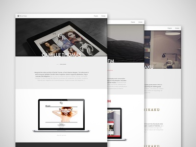 New Portfolio — It's Out! webdesign website portfolio