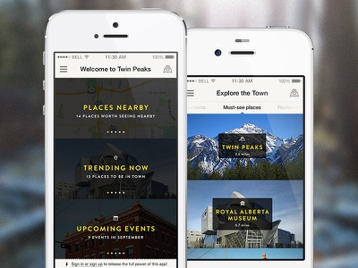 Tourism App tourism app iphone travel guide