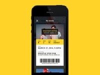 Tourism App – Tickets listing