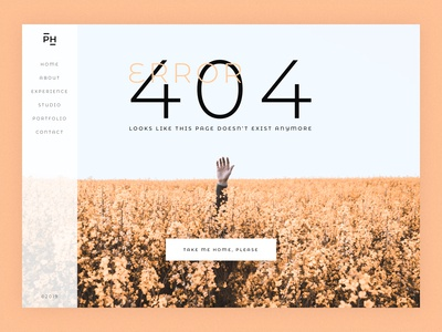 100 days of UI Challenge | 007 404 Page