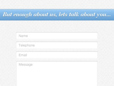 Contact Form contact form website grey blue message