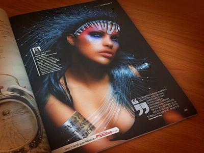 Niyo in Advanced Photoshop niyo published advanced photoshop surreal woman fantasy digital art magazine