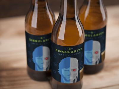 Singularity Beer package design