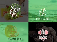 nutrition  health  fitness and yoga logo1 icon animation vector logo design illustrator typography minimal illustration branding