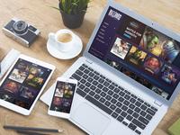 Blizzard Entertainment - Responsive UI Redesign