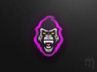 Gorilla // Mascot Logo