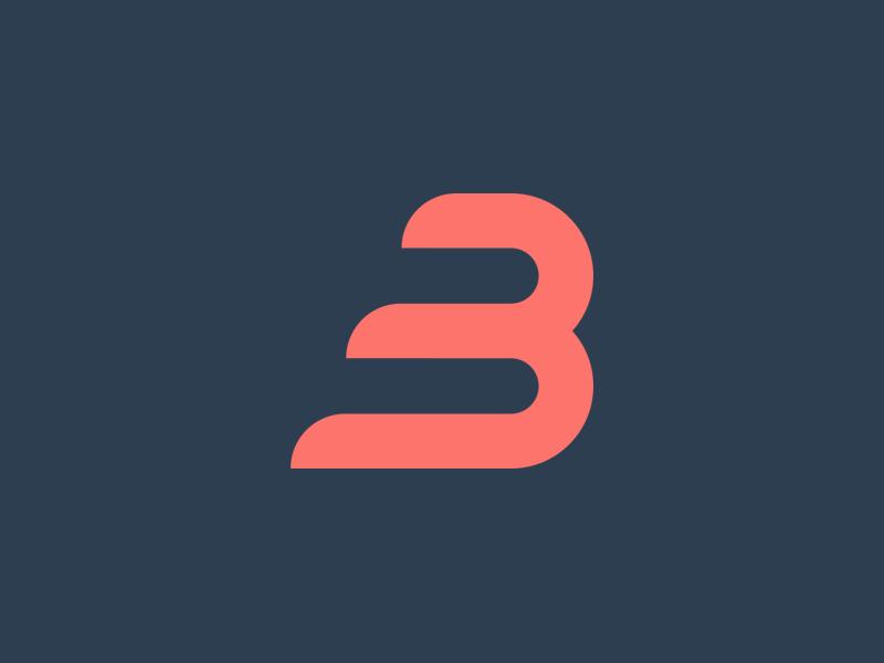 The Letter B // Project Alphabet photoshop logo lettering letter illustrator design branding alphabet b