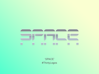 Space // #ThirtyLogos Challenge