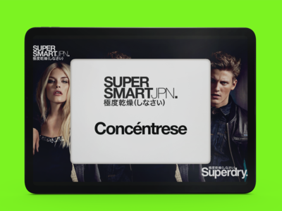 Memory game Superdry Colombia