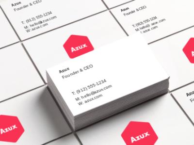 Azux branding 1