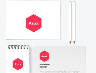 Azux branding 2