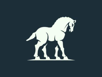 Horse heraldry brand eddarqaoui classic elegant branding cavalier race cheval premium animal forsale logo horse