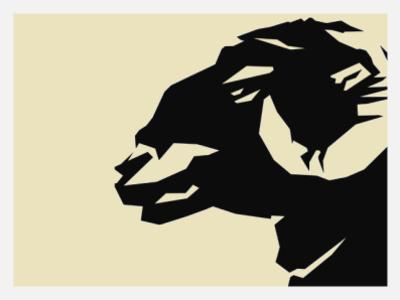 Ram animal black vector illustration classic branding mouton farm logo premium forsale brand ram sheep