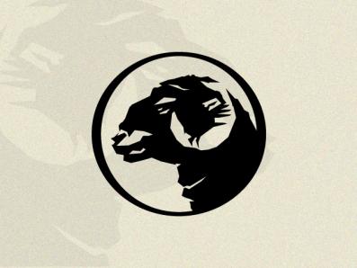 Ram vector animal branding classic illustration brand premium best forsale logo farm horns sheep ram