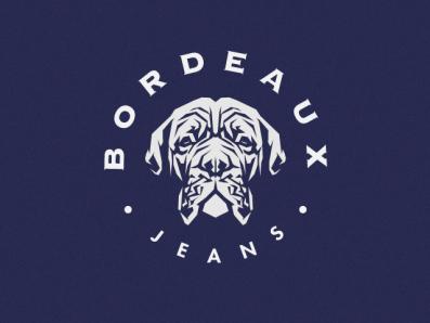 Dog Head Logo vector illustration logos dogs best animal pet branding brand for sale premium design chien head bordeaux logo dog