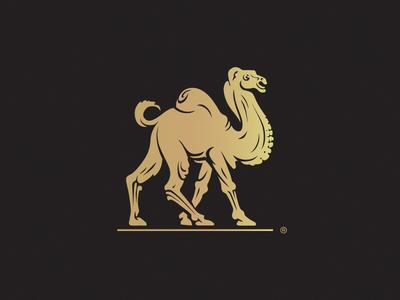 Camel heraldry elegant animal forsale branding brand eddarqaoui antique best illustration logo classic dromadaire chameau camel