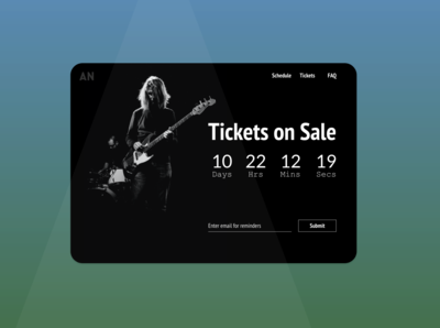 Ticket Sales Countdown