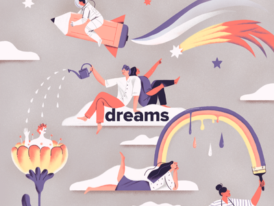Dreams painting space sketch sky dreams digital drawing drawing illustration dream