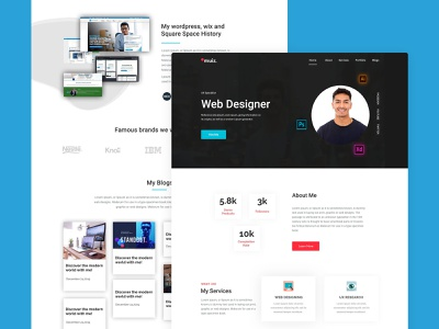 Simple minimal portfolio landing page web simple design typography global business consilion web page uixdesign landing page ui landing page design landing page adobexd