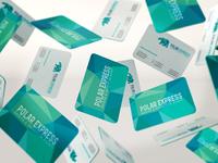 Polar Express Visiting Cards