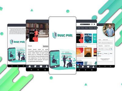 E-Book App (Book Fair) education online reading app book reading ui ux ebooks ebook design ebook