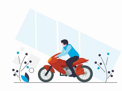 Illustration (for Splash Screen) design vector illustration