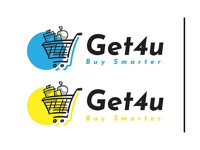 Online Store - Get4u design icon logo branding