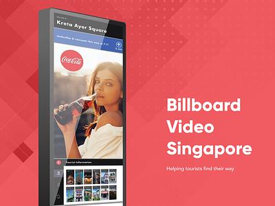 Billboard Video Singapore digital kiosk wayfinding