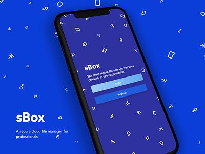sBox ux file sharing ui