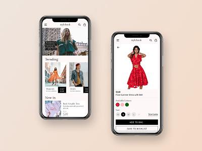 Fashion Ecommerce App Concept fashion ecommerce uiux design concept uiuxdesign ui uidesign