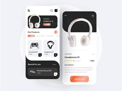 E-Store Mobile App electronic estore mobile ui mobile design mobile app ui mobile app design uidesign design