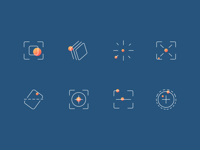 Video operator tool icon set - set based on roicons design landing page premium icons card layer styles layered layers label landscape layout cropping cropped crops abstract icon substract add plus minus layer crop