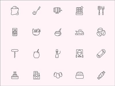 Roicons - food icon set