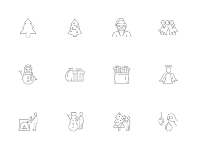 ⭐ Roicons - christmas icon set