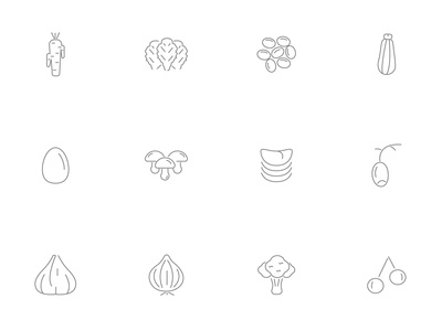 ⭐ Roicons - food icon set