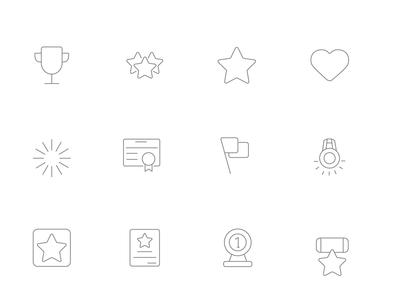 ⭐ Roicons - awards icon set