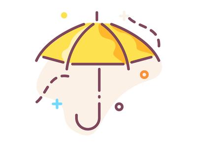 Umbrella shot
