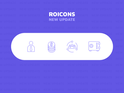 Roicons v. 1.02 - update of business icons on roicons