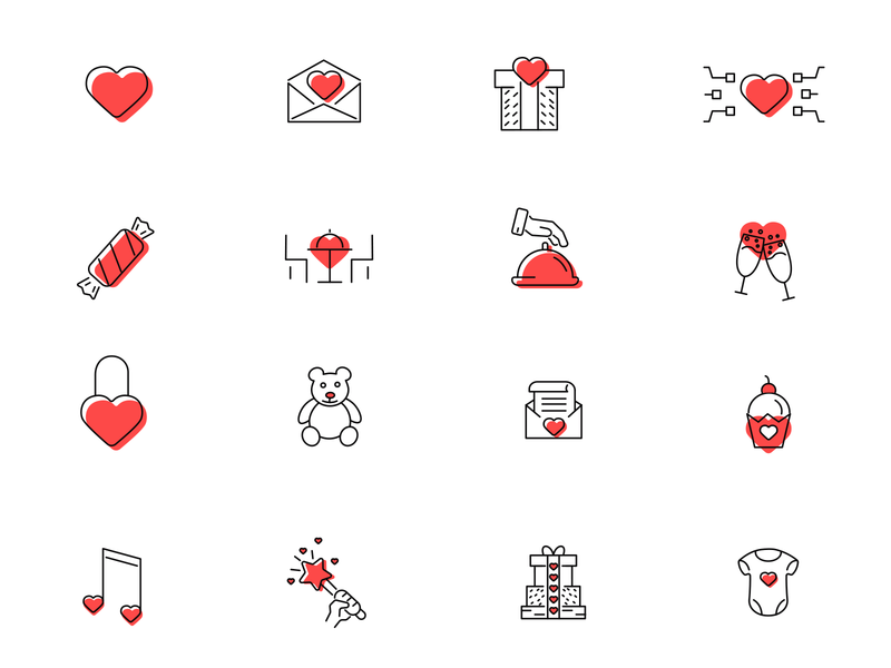 Free valentines icon set free icons freebie free free icon download love cupcake music baby magic romantic dinner heart gift letter valentines free valentines free set free icon
