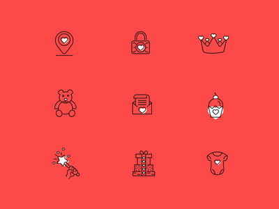 Download free valentines icons