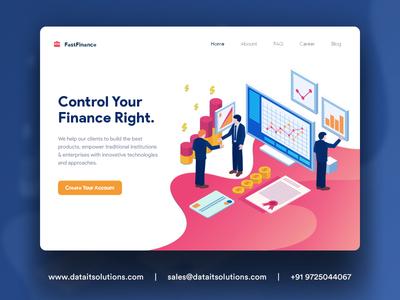 Payday Loan Business Website Design branding creative design websitedesign