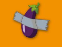 Eggplant Bondag.....nevermind... i'am art !!!
