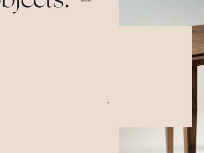 proportional.design + mila furniture blush motion