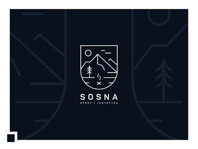 Branding: Pine - camps logo vector branding design