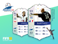 World Cup 98 FUT Cards - pt 2