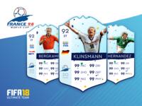 World Cup 98 FUT Cards - pt 4